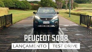 Peugeot 5008 - Lançamento e Test Drive