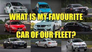 WHAT IS MY MOST FAVOURITE CAR OF OUR FLEET?
