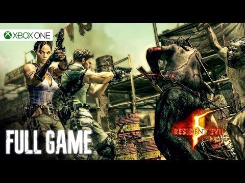 Resident Evil 5: HD Remaster (Xbox One) - Full Game 1080p60 HD Walkthrough - No Commentary