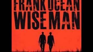 Frank Ocean Wiseman Instrumental remake