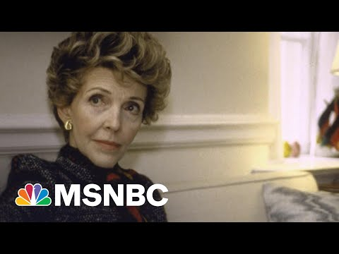 What Made Nancy Reagan An 'Essential Partner' To Her Husband | Morning Joe | MSNBC