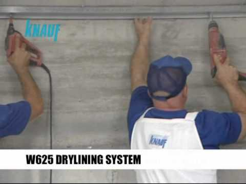 Knauf Wall Lining System Application