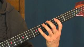 beginner bass guitar lesson stuck in the middle with you stealers wheel Gerry rafferty