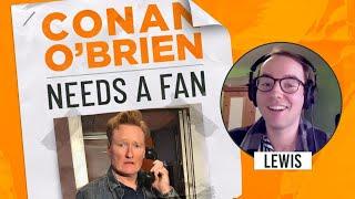 This Fan's Mom Isn't Familiar With Conan   Conan O'Brien Needs a Fan