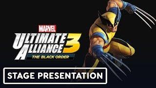 Marvel Ultimate Alliance 3: The Black Order Gameplay Pt. 2 Full Treehouse Presentation - E3 2019