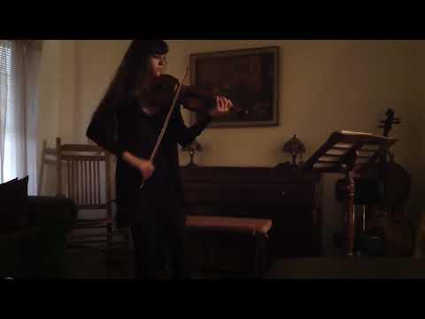Bach Partita no. 2 Allemande