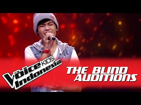 "Nuca ""All of Me"" I The Blind Auditions I The Voice Kids Indonesia GlobalTV 2016"