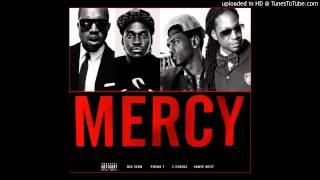 Big Sean, Kanye, 2 Chains, Pusha T- Mercy Slowed Dine!