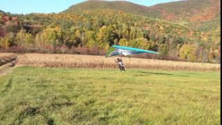 Joe landing at West Rutland