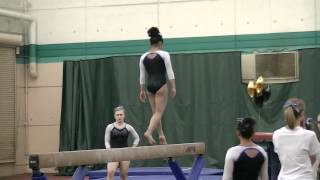 Gymcats - Jessica Level 10 - Nevada State Meet Beam Champion 2012