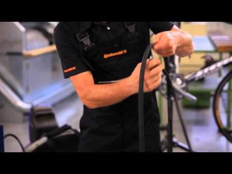 Continental - Rennrad - Montage von Draht- und Faltreifen