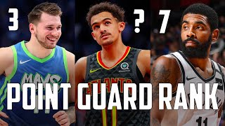 OFFICIAL Top 10 Point Guards In The NBA Right Now...