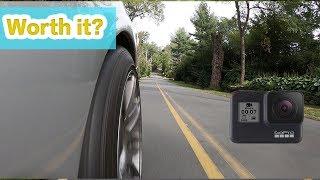 GoPro 7 Hero Black Hyper Smooth Car Footage Review