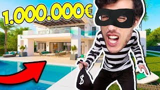 RUBO IN UNA VILLA DA 1.000.000 DI EURO!!