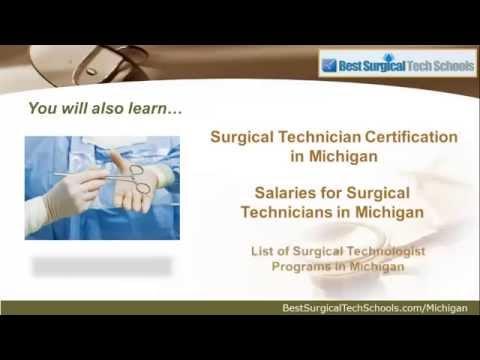 Top Surgical Tech Certification Schools in Michigan | MI Programs