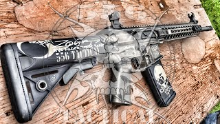 556 Tactical custom rifle DeathPunch 3