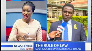 Nairobi Lawyer Nelson Havi insists Court orders must be obeyed   | THE RULE OF LAW