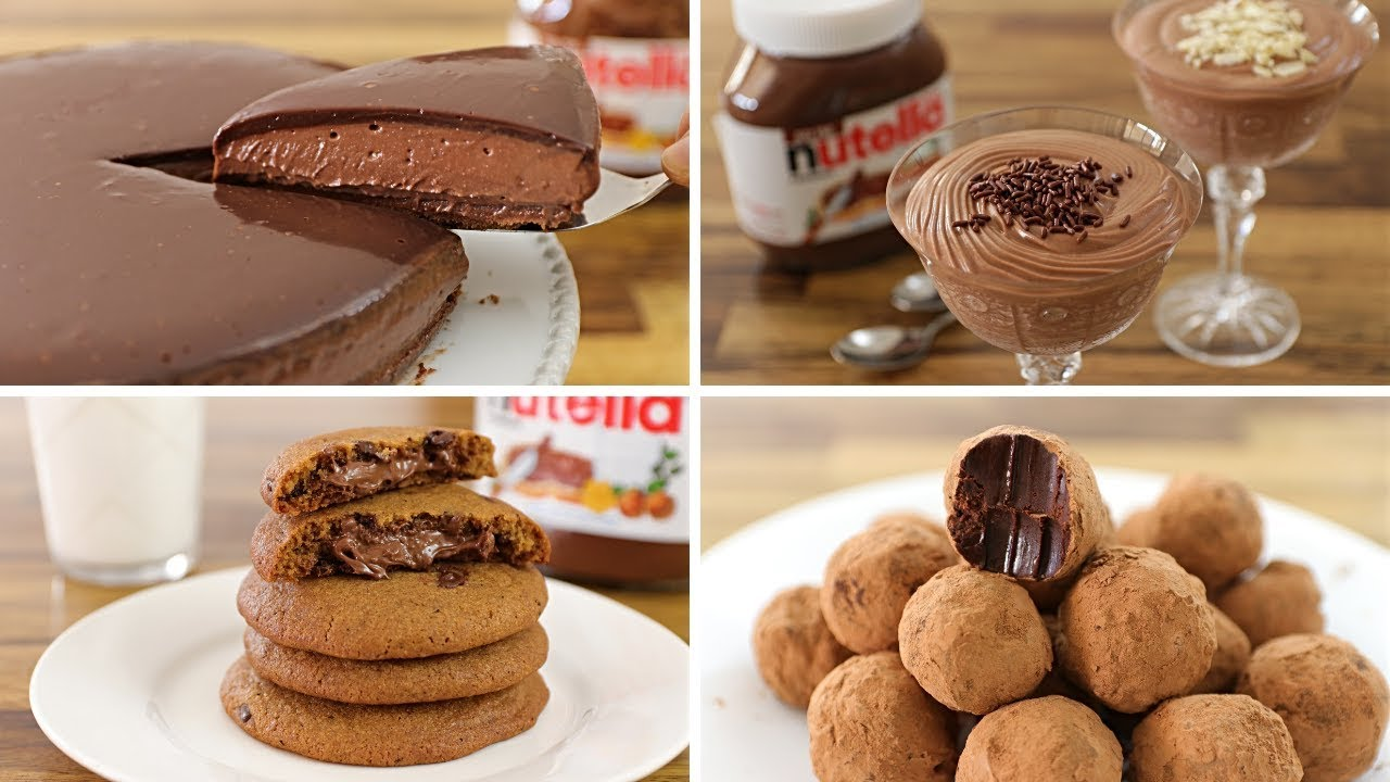 4 Easy Nutella Dessert Recipes The Cooking Foodie The Cooking