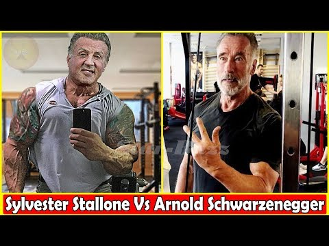 Arnold Schwarzenegger(0-71 Years) Vs Sylvester Stallone(0-72 Years) Body Transformation ★ 2019
