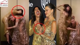 OOPS Priyanka Chopra Caught In COMPROMISING Position With Sofia Vergara At Golden Globes Awards