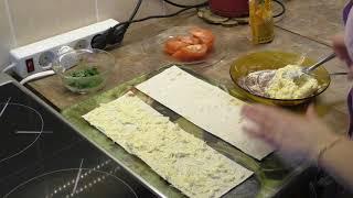 Лаваш с начинкой!!! Очень вкусный рецепт!!! Pita bread with filling!!!