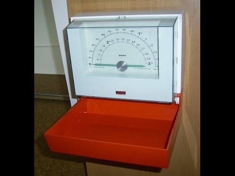 Krups Küchenwaage / Wandwaage / Vintage  70er,Food Scale