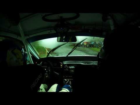 37. Rally Příbram - RZ 14 průjezd přes Dublovice