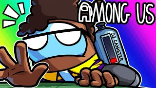 Among Us Funny Moments - Oxygen BARLEY Included!!