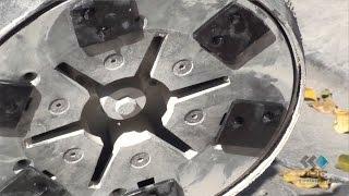 Inserto Diamantado HTC Unha de Gato para Raspagem Asfáltica e Sinalização Viária
