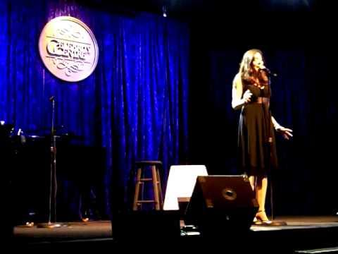 Ali Lewis sings My Funny Valentine 9/16/10