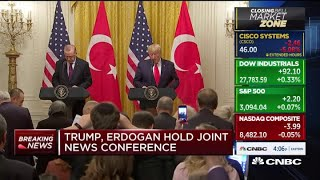 "Trump: ""I am a big fan"" of Turkey's president"