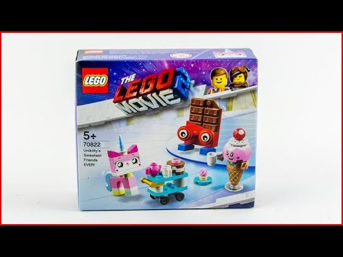 LEGO MOVIE 2 70822 Unikitty's Sweetest Friends EVER! Construction Toy - UNBOXING