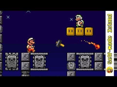 Ninji's Oriental Forest • Super Mario Bros  X Level