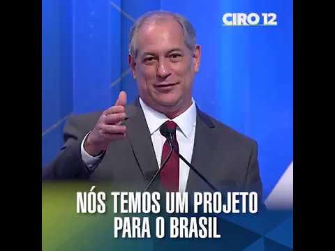Nós temos um projeto para o Brasil