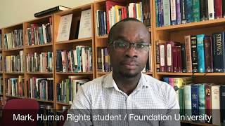 Student Testimony about Human Rights Education