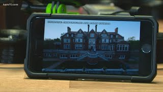 Drone pilot for viral Glensheen Mansion video highlights state's historic architectural treasures