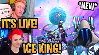 "Streamers React to *NEW* ""CLOCK"" Count Down in the Sphere! - Fortnite Moments"