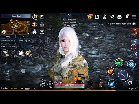 Black Desert Mobile Play Sub Character & Rewards