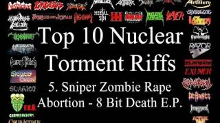 Nuclear Torment Top 10 Riffs (Promo)