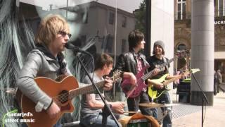 Wipeout - Sweet Little sixteen (Chuck Berry cover) - Leeds city centre