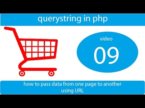 query string in php