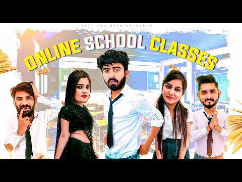 Online School Classes | Teacher vs Students || Half Engineer
