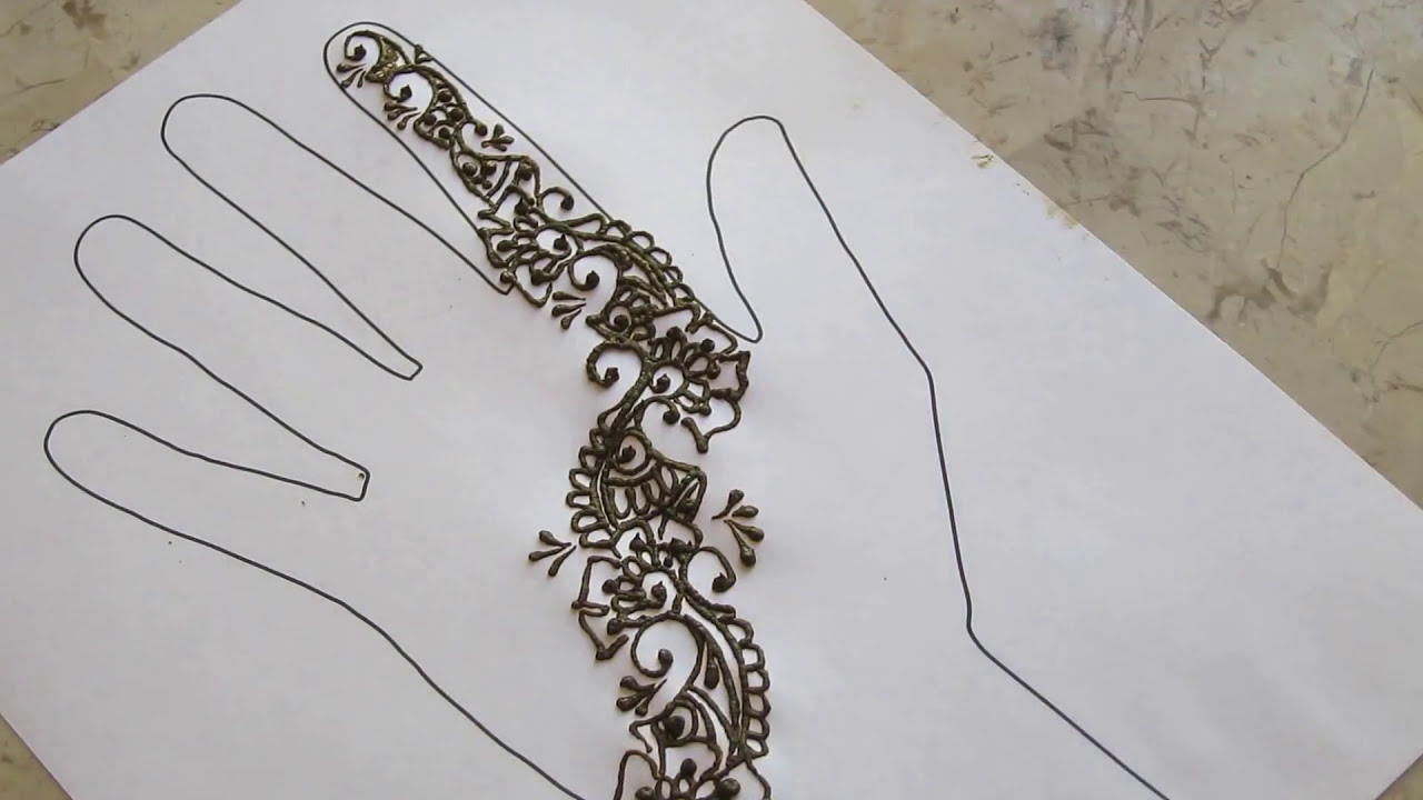 quick party mehndi designs by henna sooq