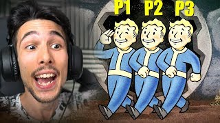 E SE FALLOUT 4 FOSSE MULTIPLAYER?! (Fallout 76 Reaction) Gabby16bit