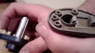 EASIEST WAY to remove master lock trigger lock using only a screw driver  SAVE YOUR MONEY