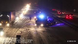 15.02.2021 / Trafikulykke / Lyngby