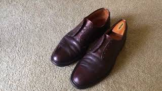 Why Shell Cordovan (horse butt leather) is so expensive!