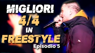 Migliori 4/4 in FREESTYLE (Episodio 5) - Mix Battle 2020