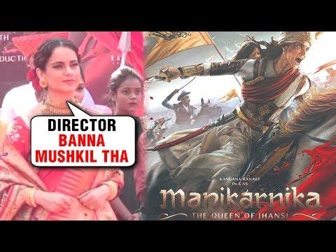 Kangana Ranaut REACTION On Directing Manikarnika |